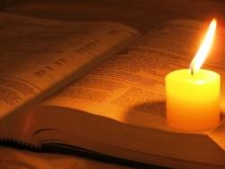 Bible/Candle